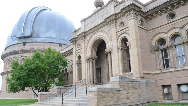 The University of Chicago says it will cease activities at the Yerkes Observatory in Williams Bay by Oct. 1