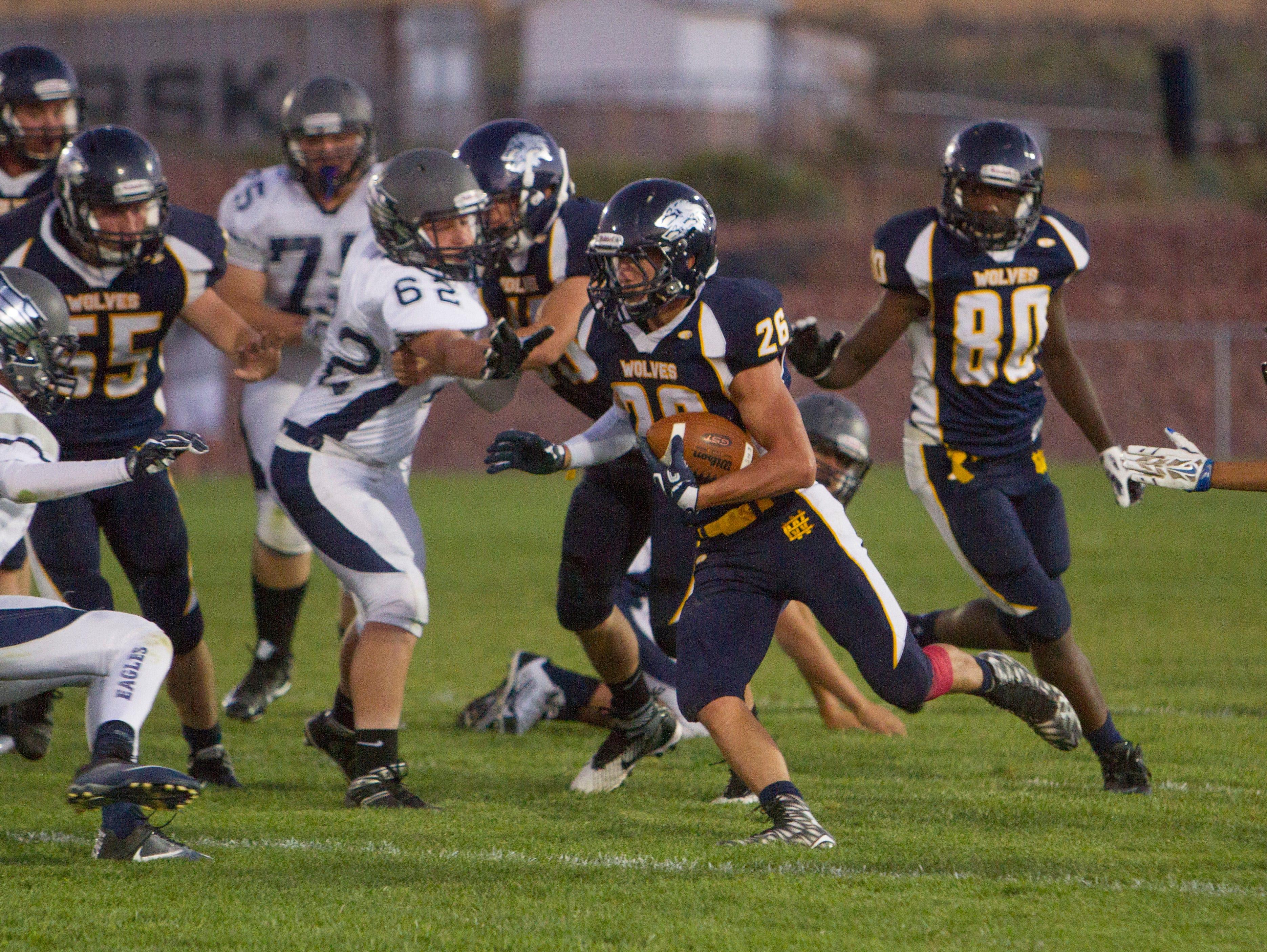 Enterprise High School football defeats Millard High 40-7 Friday, Sept. 9, 2016.