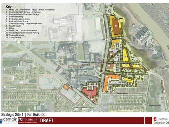 A conceptual development plan for Eastman Business