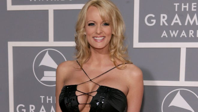 Stormy Daniels, who is alleged to have had an affair with President Donald Trump.