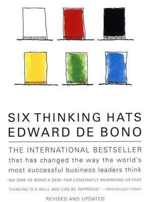 """Six Thinking Hats"" by Edward de Bono"
