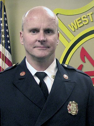 West Chester Township Fire Department Chief Tony Goller will retire after 35 years with the department, the last eight as chief.