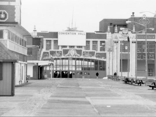 A view from Asbury Park Convention Hall in 1996 along the Asbury Park boardwalk