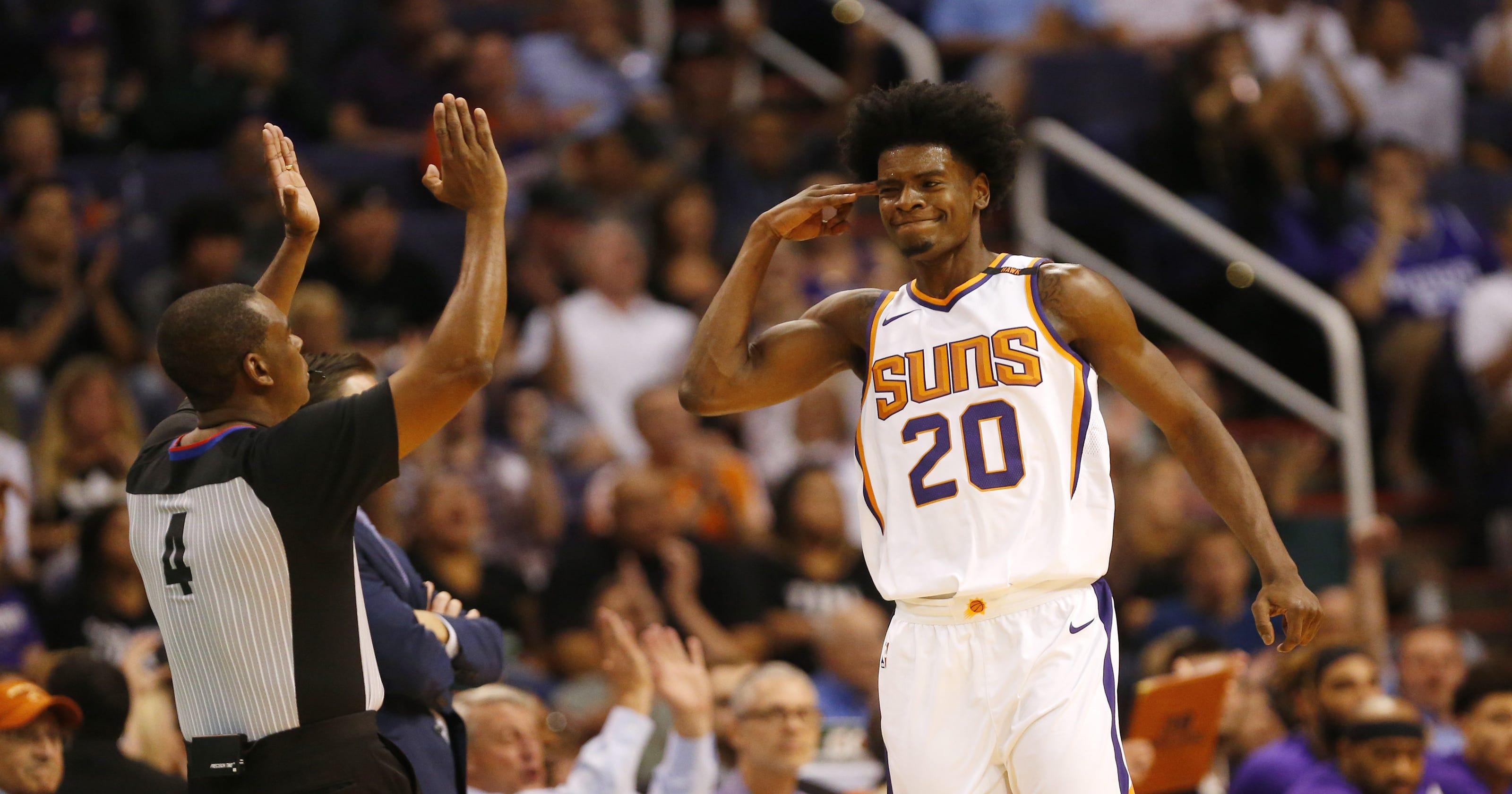 Suns News Josh Jacksons Hand Gesture Results In 35000 Fine