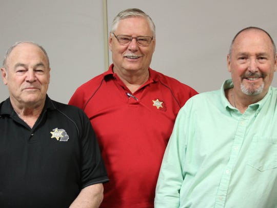 The Livingston County Sheriff's Department's cold-case team, from left, William Lenaghan, Joseph Morrow and Michael Frayer, believe the Paige Renkoski case is solvable.