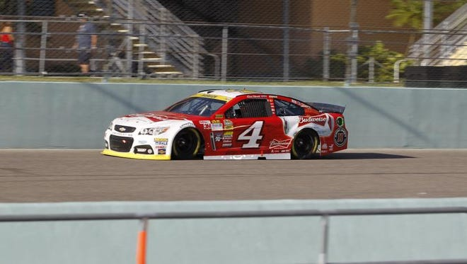 Kevin Harvick won the Sprint Cup championship for 2014 with his win at Homestead.