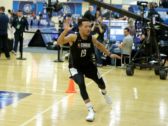 Jalen Brunson won two NCAA titles in three years at Villanova.
