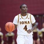 Iona's Schadrac Casimir, the reigning MAAC Rookie of the Year, will miss the remainder of the season.