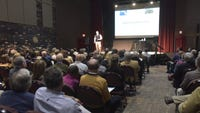 CicvicCon speaker Ed McMahon spent several days in Pensacola discussing why community character counts.
