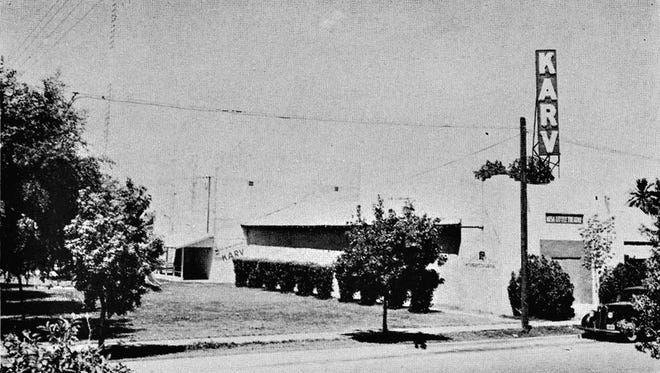 Mesa's first radio station went on the air Jan. 6, 1947, broadcasting from studios in the basement of Mesa Little Theater building on West Pepper Place.