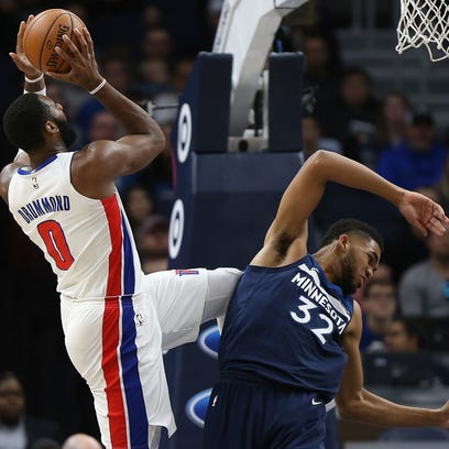 Pistons bounce back to beat T-Wolves