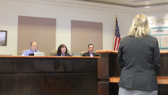 Interim City Manager and former District 6 commissioner George Straface, along with Commissioners Nadia Sikes and Jason Baldwin asked all three candidates the same questions during the interviews on Tuesday evening.