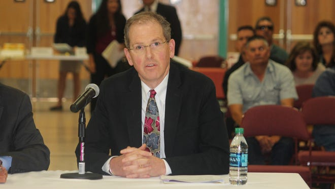 Sen. Peter Wirth, D-Santa Fe, said the New Mexico bail bond system is broken and needs to change at a New Mexico Judiciary meeting at the New Mexico State University-Alamogordo Tays Center on Thursday.
