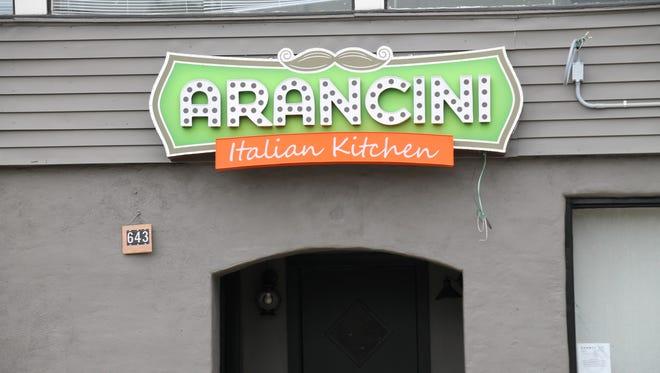 Arancini, a new casual Italian restaurant, will open Nov. 17.