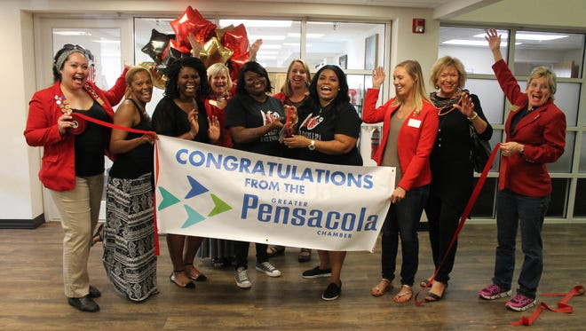 SNOB Salon & Spa was among several new businesses in the area that was recently celebrated with a ribbon-cutting ceremony by the Greater Pensacola Chamber of Commerce.
