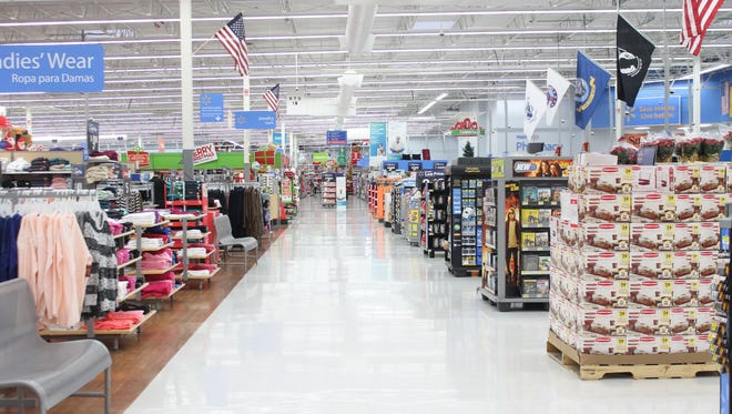 Alamogordo's Walmart Supercenter was mostly empty early in the morning of Black Friday.
