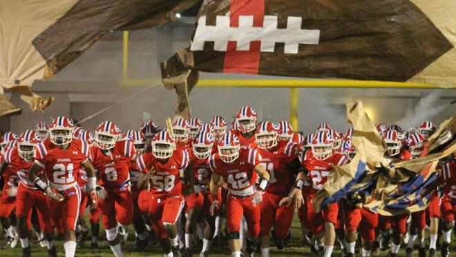 Evangel Christian Academy Eagles host the Catholic High School Bears Friday night for High School playoffs in Shreveport.