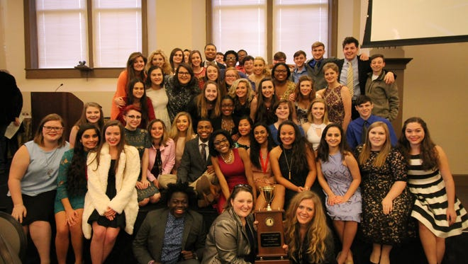 Oak Grove drama students are state champions.