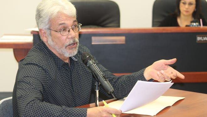 Rick Merrick of South Central Mountain Resource Conservation and Development Council briefly updated County Commissioners on past and future projects at their regular County Commission meeting Thursday morning.