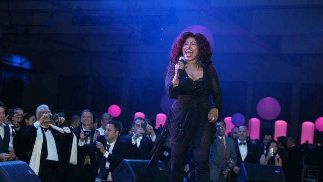 Chaka Khan is a hit with the 2016 Steve Chase Humanitarian Awards gala crowd.
