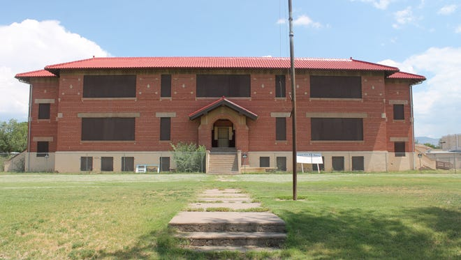 In this file photo, the Red Brick Schoolhouse's future was uncertain. Recently, the Village of Tularosa have decided that they want to keep the historical building.