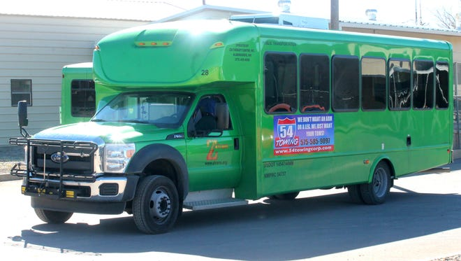 Z-Trans Public Transportation is repainting their buses a vibrant green color to stand out from the crowd.