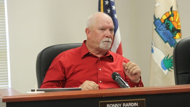 County Commissioner Ronny Rardin made a few corrections on the PLUAC's mission statement at their regular county commission meeting Thursday morning.
