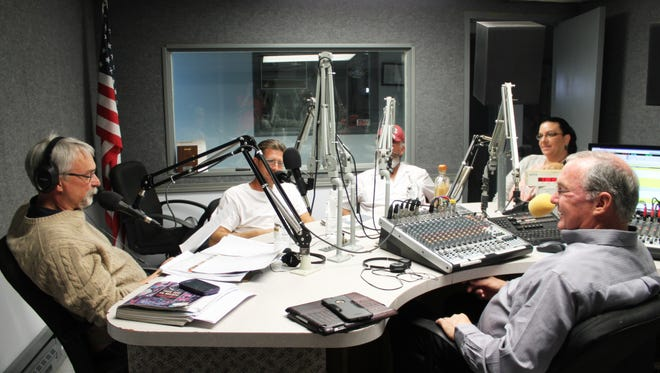 Michael Shinabery hosted a forum for the three candidates on WP Broadcasting's Alamo AM 1230 on Thursday morning.