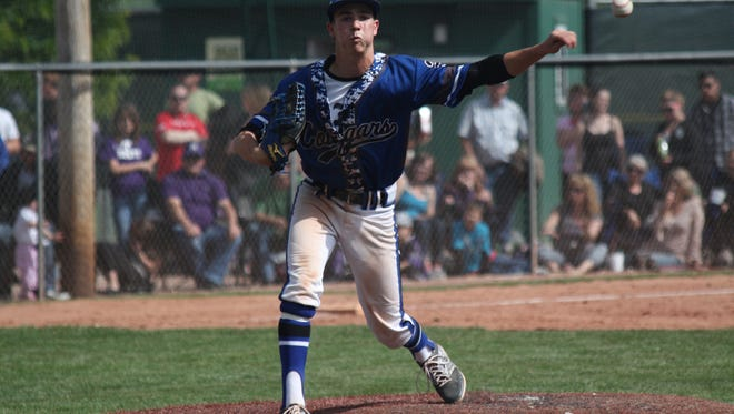 Resurrection Christian's Jake Tomcheck, shown in a game last season, threw a five-inning perfect game Saturday.