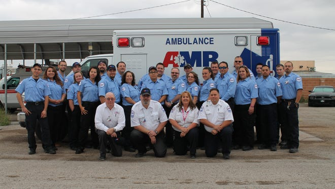 The American Medical Response of Otero County is offering free CPR training at Walmart,  233 S. New York Ave. on May 18 from 1-6 p.m. as part of National Emergency Medical Services Week.
