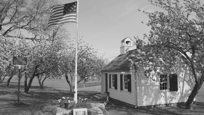 The outside of the Mamaroneck Schoolhouse, which is celebrating its 200th anniversary.