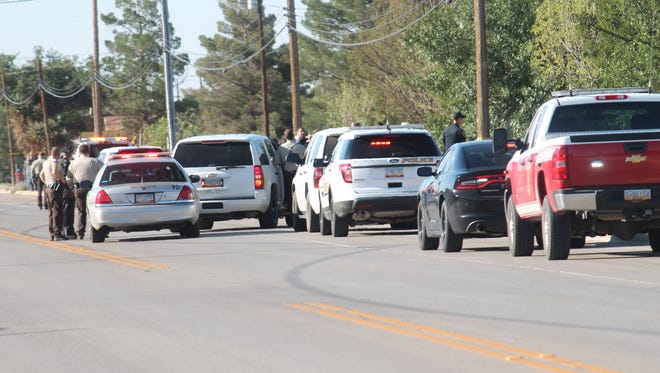 New Mexico State Police and Alamogordo Police Department are investigating a shooting near South Florida Avenue and Santa Cruz Drive. The shooting occurred this morning around 8:30 a.m.