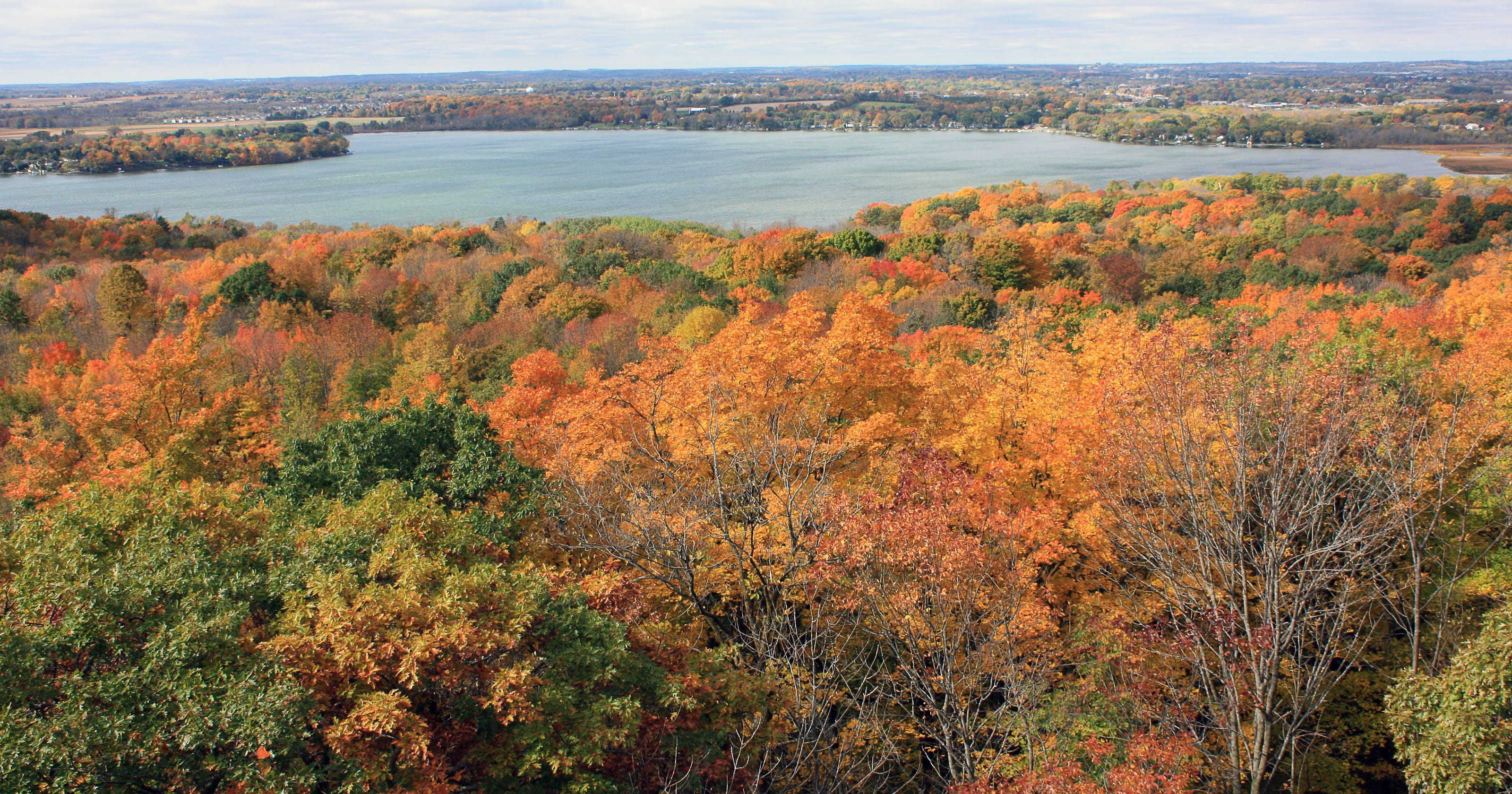 wi fall color report