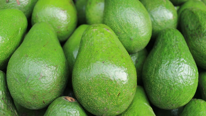 Not only is avocado high in nutrients, but it's healthy fats keep skin healthy and beautiful.