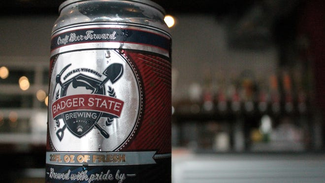 Tap beer canned before your very eyes. That's a CROWLER.
