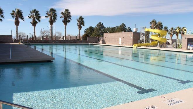 The Alamogordo Family Recreation Center Pool
