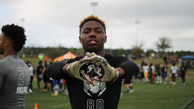 2018 four-star DB Isaiah Bolden at the Orlando Opening regional camp