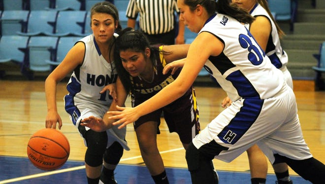 Boasting a 19-4, 4-0 record, Hondo girls will host the Class 1A District 3 Championship at 4 p.m. Saturday.