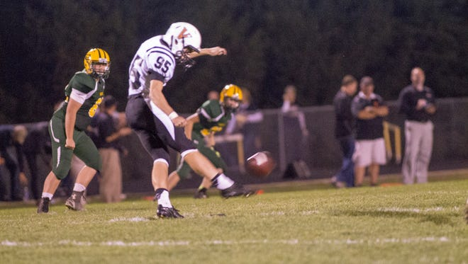 West Des Moines Valley High kicker Cole Hahn committed to play for Michigan State this fall.