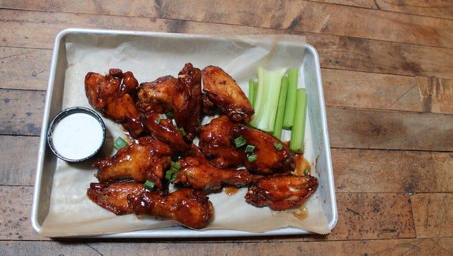 Smoked chicken wings are the Hot Dish at Parker John's BBQ & Pizza in all three locations (Menasha, Sheboygan and Kiel).
