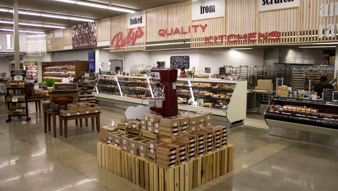 """Owner Pyramid Foods bills Ruby's Market as """"Springfield's healthiest grocery store,"""" but the experience extends beyond grocery shopping."""