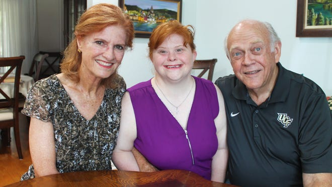 Nancy, Patricia and Mike Moody