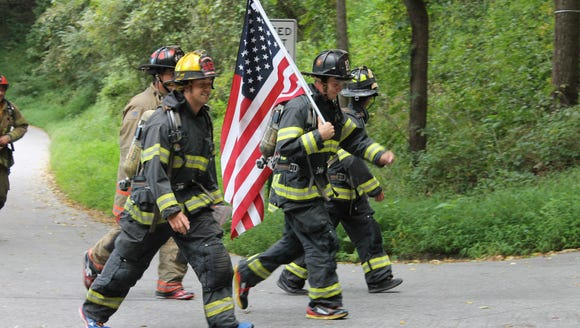 The Tunnel to Towers 5K in honor of Sept. 11 first