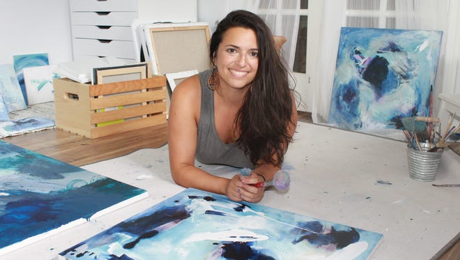 Jennifer Mele, Plainsboro native and creative healing artist, launches her collection, Primal Dreams.