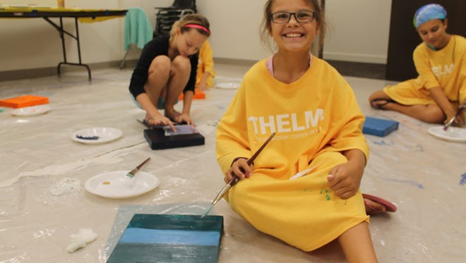 Children and families can register for the Splatter class held from 6 to 8 p.m. on Thursday, Dec. 28. A children's class will be held from 1 to 3 p.m. on Friday, Dec. 29.