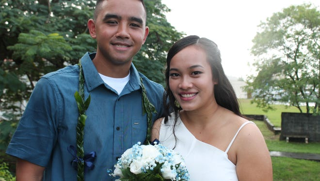James Patrick Garcia and Jerrilynn Reyes Quitugua were married on Nov. 18, 2017. Wedding ceremony was officiated by Senator Frank B. Aguon Jr.  at Agana Spanish Bridge. Dinner reception was held at Pacific Star Hotel.