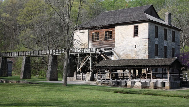 The Grist Mill at Spring Mill State Park.