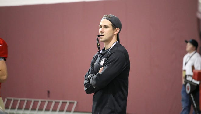 FSU quarterbacks coach Walt Bell.