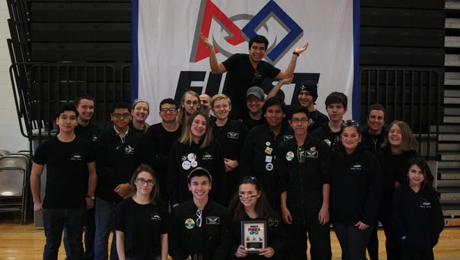 Team 747, Flight Crew, the community based team from Middlesex, is one of eight Central Jersey teams headed to the FIRST World Championship.