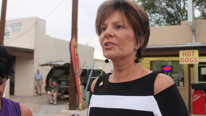 State Rep. Yvette Herrell, R, won the Republican primary in the U.S. Representative District 2 race in the June 5 primary election.